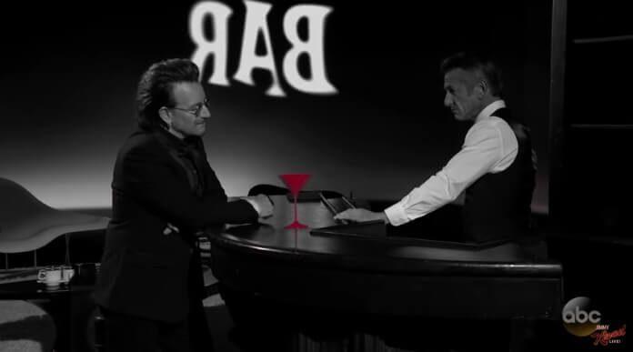 Bono e Sean Penn