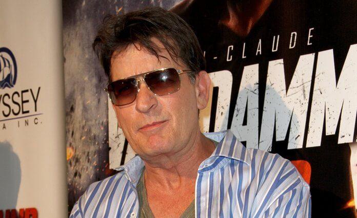 Charlie Sheen em 2015