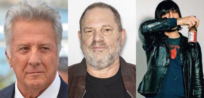 Dustin Hoffman, Harvey Weinstein e Ethan Kath