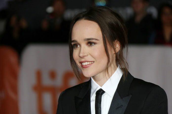 Ellen Page em 2015