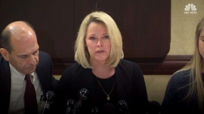 Heather Unruh denuncia Kevin Spacey