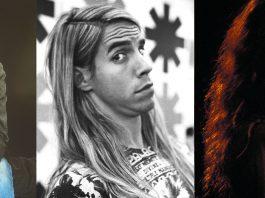 Kurt Cbain, Anthony Kiedis e Eddie Vedder em 1991
