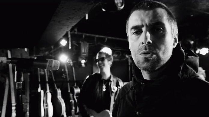 Liam Gallagher no clipe