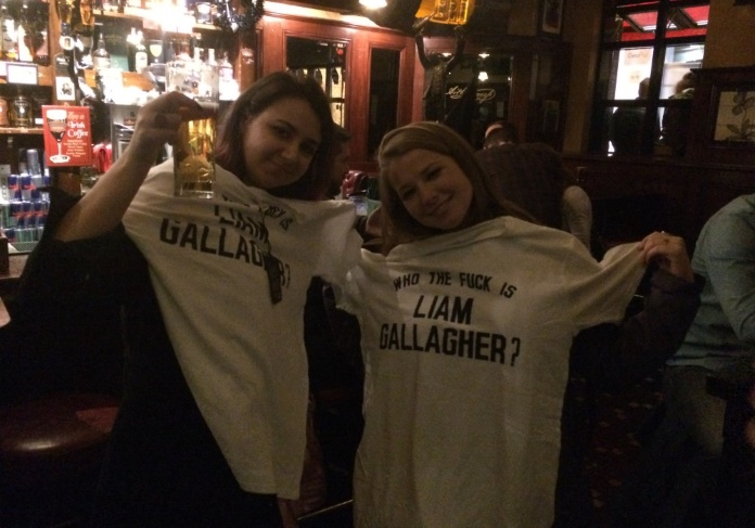 Show do Liam Gallagher em Dublin