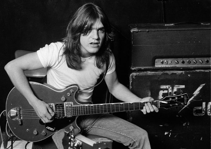 Malcolm Young no AC/DC