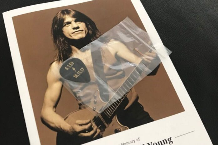 Funeral de Malcolm Young