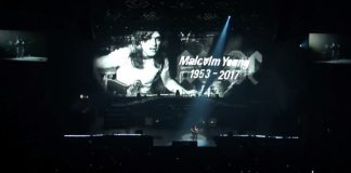 Homenagem do Guns N Roses a Malcolm Young