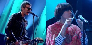 Noel Gallagher e a tesoura