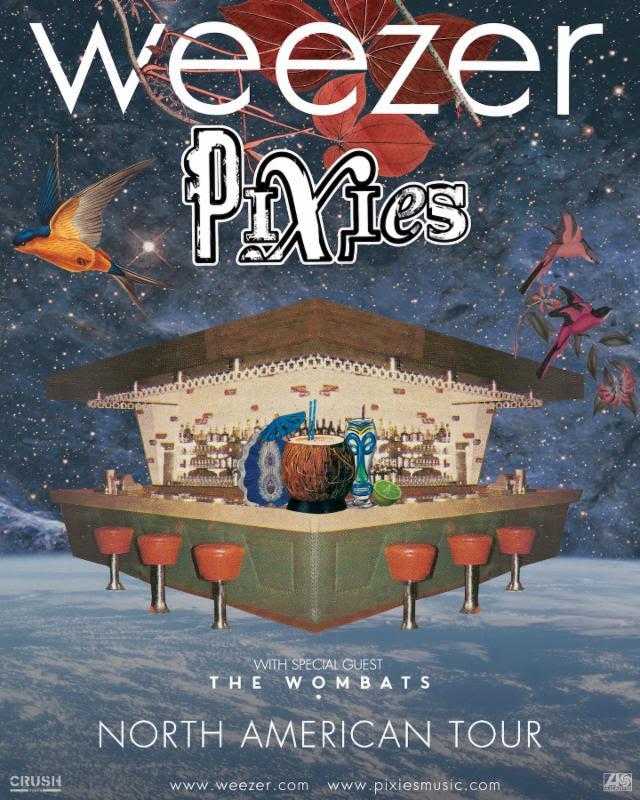 Turnê do Weezer com Pixies e The Wombats