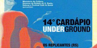 Cardápio Underground divulga programação completa