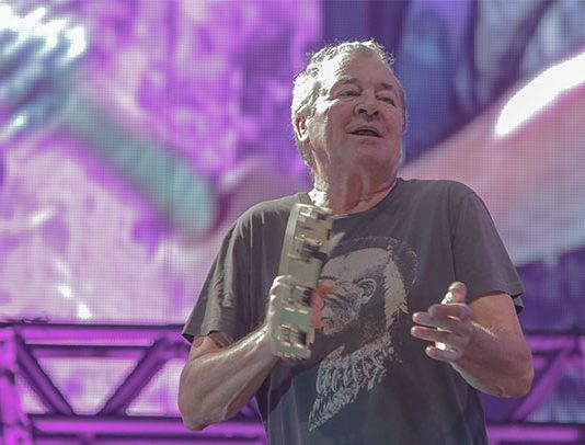 Deep Purple no Solid Rock em São Paulo