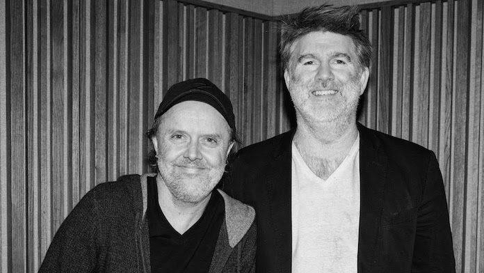 Lars Ulrich e James Murphy