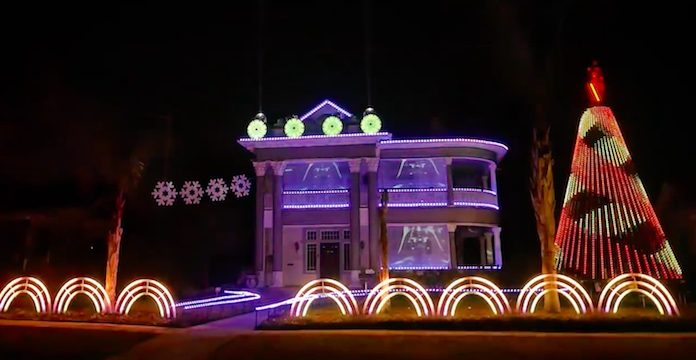 Star Wars - iluminação de Natal