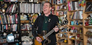 Ted Leo no Tiny Desk, da NPR