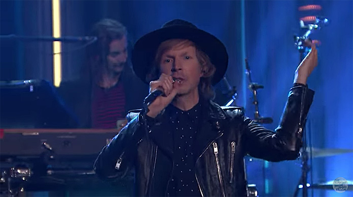 Beck no programa de Jimmy Fallon