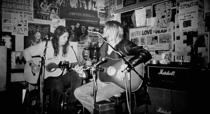 Dave Grohl e Kurt Cobain
