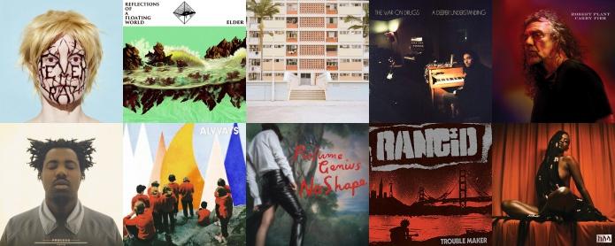 Grandes discos internacionais de 2017