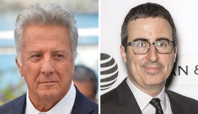 Dustin Hoffman e John Oliver