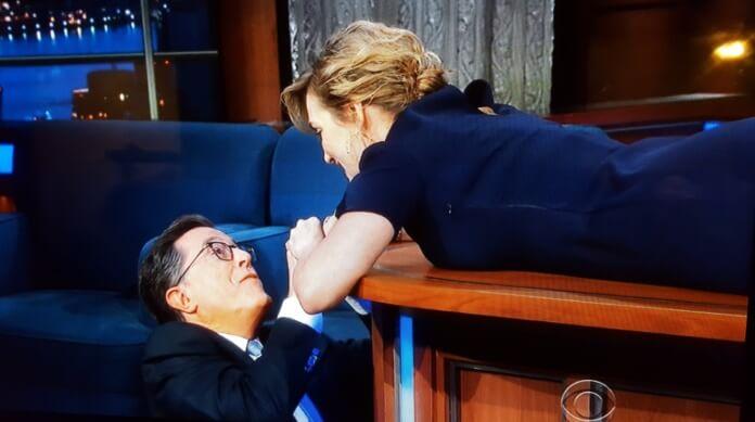 Titanic | Kate Winslet e Stephen Colbert