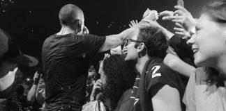 Linkin Park no clipe de Crawling