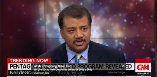 Neil deGrasse Tyson fala sobre OVNIs na CNN