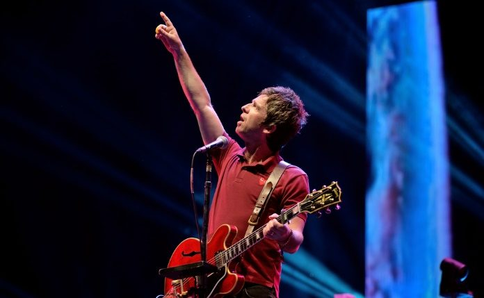 Noel Gallagher no Benicassim 2015
