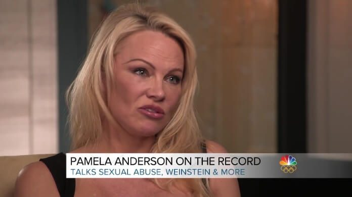 Pamela Anderson na NBC