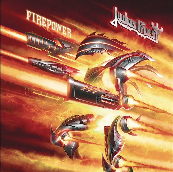 Judas Priest - Firepower capa