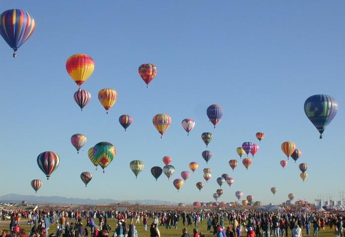 Festival de balões em Albuquerque