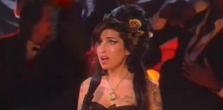 Amy Winehouse no Grammy 50