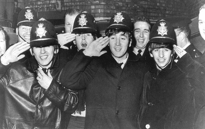 Beatles com a Polícia de Birmingham
