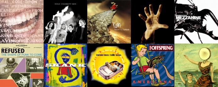 Discos de 1998