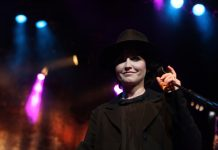 Dolores ORiordan, do The Cranberries, em 2012