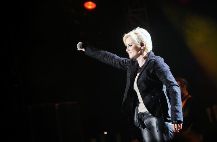 Dolores O Riordan, vocalista do The Cranberries