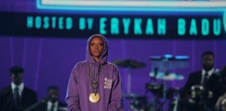 Erykah Badu no BET Awards 2017