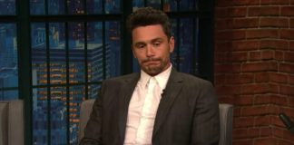 James Franco no programa de Seth Meyers