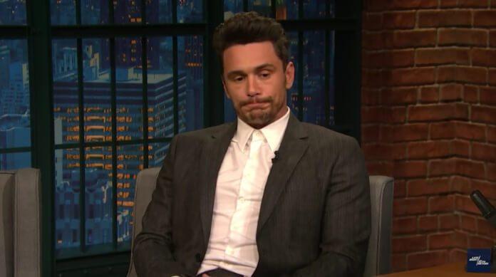 James Franco no programa de Seth Meyers
