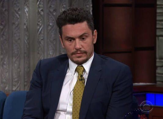 James Franco no programa de Stephen Colbert