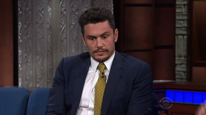 James Franco no programa de Stephen Colbert