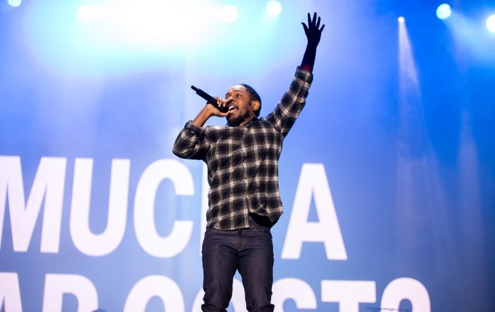 Kendrick Lamar em 2016