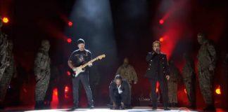 Kendrick Lamar e U2 no Grammy