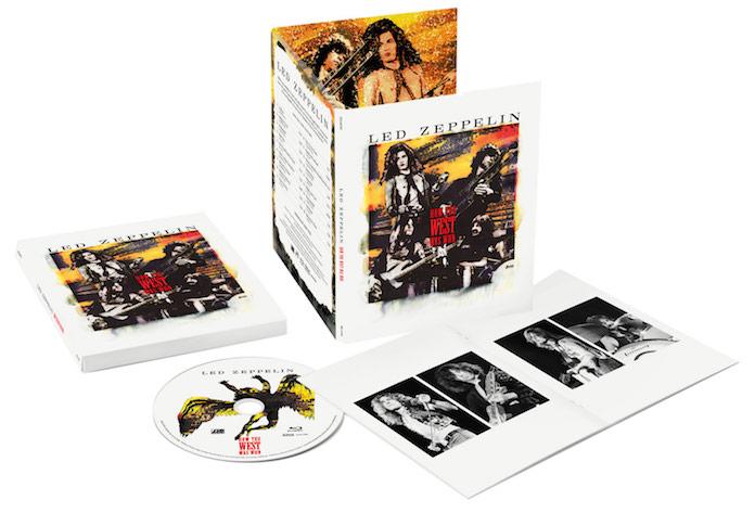 "Led Zeppelin: reedição de ""How The West Was Won"" - Blu-ray"