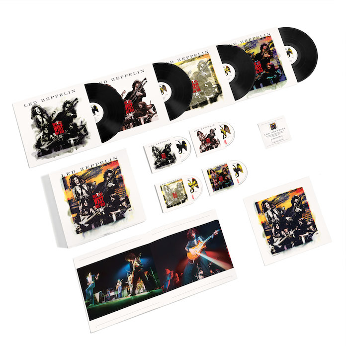 "Led Zeppelin: reedição de ""How The West Was Won"" - versão super deluxe"