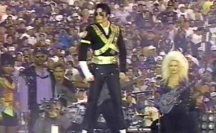Michael Jackson no Super Bowl