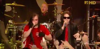 My Chemical Romance e The Used fazendo cover de Queen na MTV