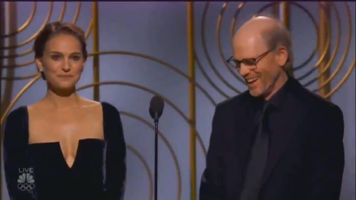 Natalie Portman no Globo de Ouro