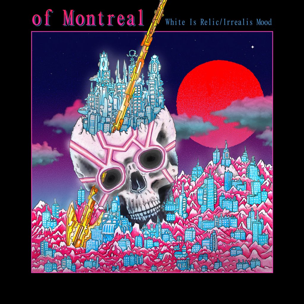 "capa do disco ""white is relic/irrealis mood"" do of montreal"