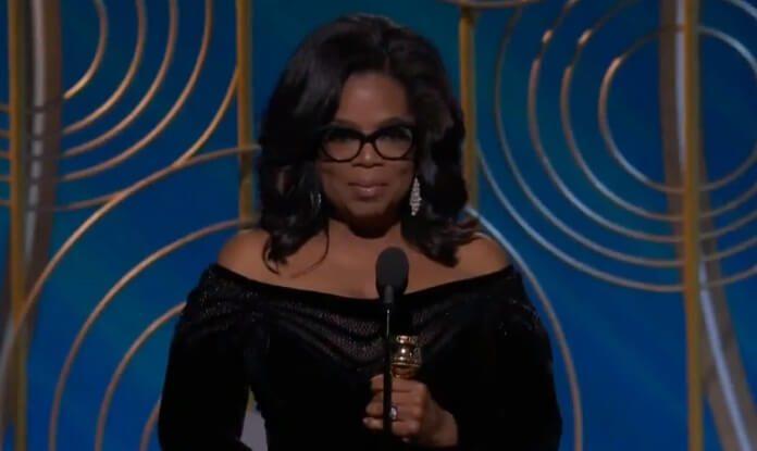 Oprah Winfrey no Globo de Ouro