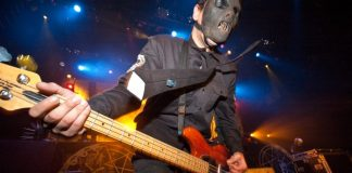 Paul Gray, do Slipknot, em 2005