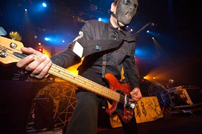 Paul Gray, do Slipknot, em 2005